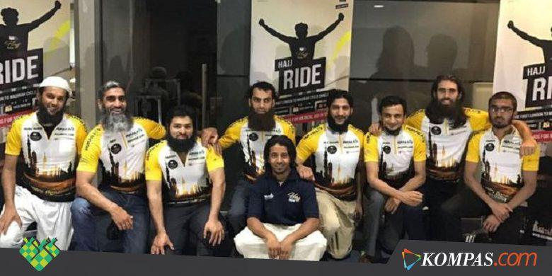Naik Haji dengan Bersepeda dari Inggris untuk Galang Dana Suriah - Kompas.com