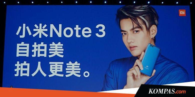 Xiaomi Mi Note 3 Hadir dalam Versi Lebih Murah - Kompas.com