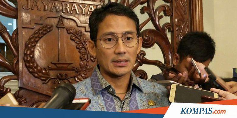 Sandi Sebut TGUPP pada Masa Kepemimpinannya seperti UKP4 Era SBY - Kompas.com