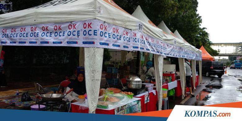 Semangat ke Car Free Night, Pedagang Sudah Bersiap Sejak Pukul 11.00 - Kompas.com