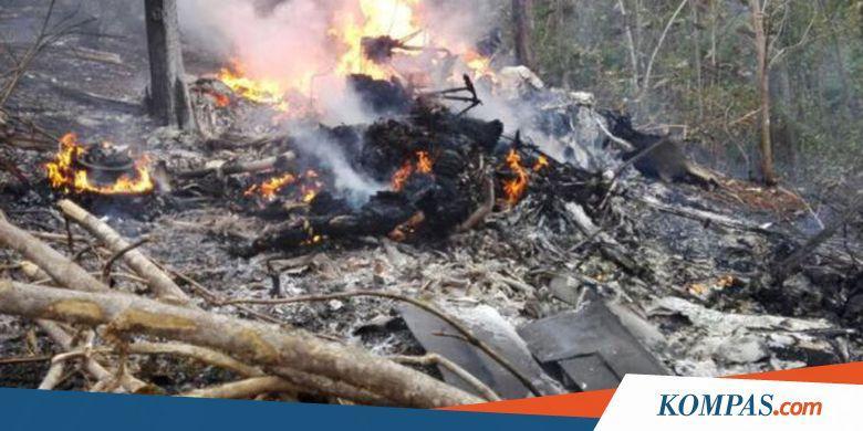 Pesawat Jatuh di Kosta Rika, 10 Turis AS Tewas - Kompas.com
