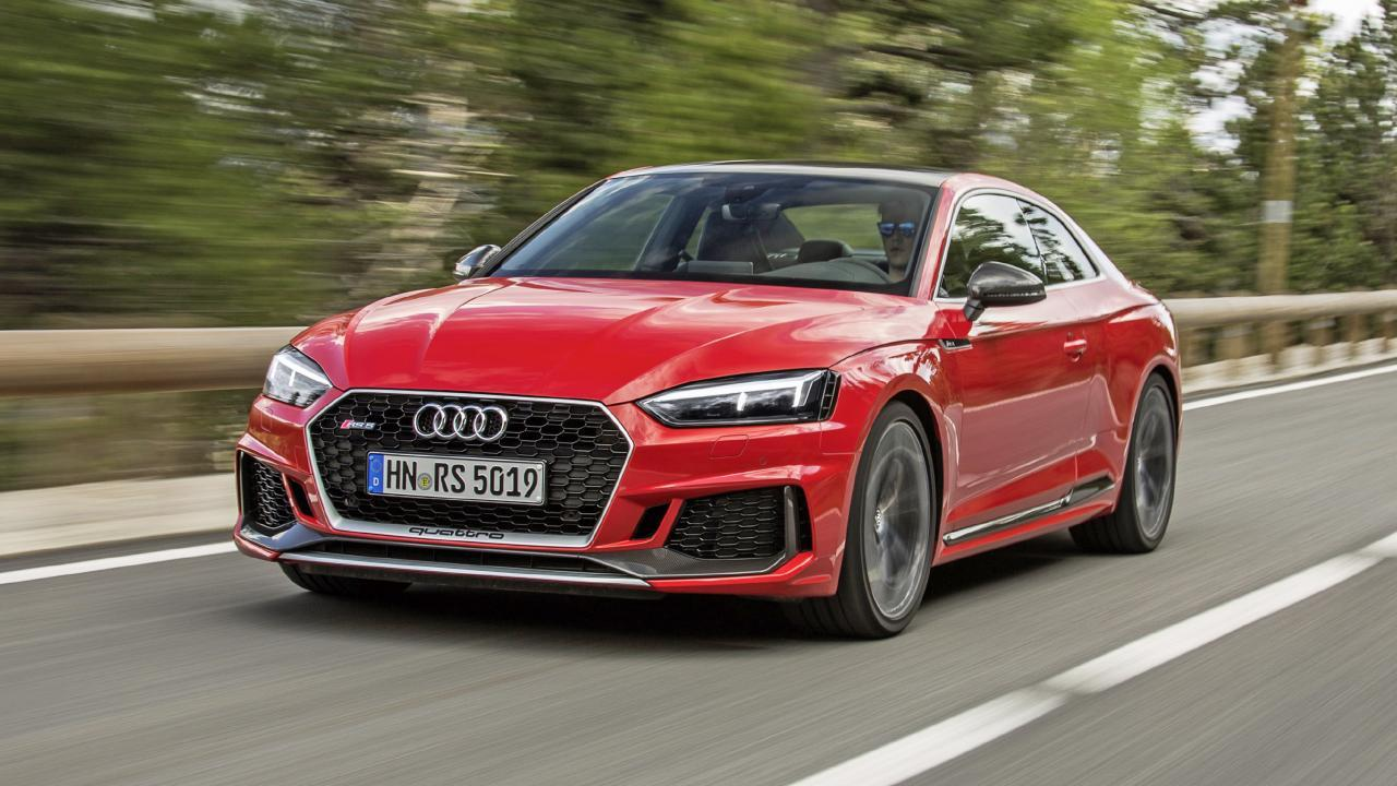 Audi RS5 Coupe review: 444bhp BMW M4 rival tested